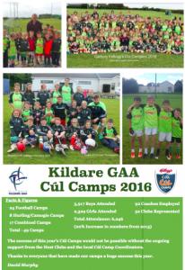 Kelloggs Cúl Camps 2016
