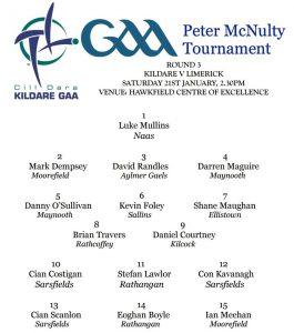 Peter McNulty – Kildare v Limerick