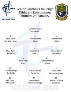 Kildare v Roscommon