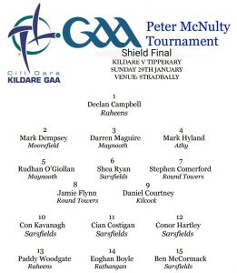 Peter McNulty Shield Final – Kildare v Tipperary