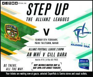 Allianz Football League – Kildare v Meath