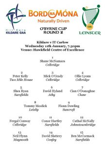 O'Byrne Cup – Kildare v IT Carlow