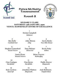 Peter McNulty – Kildare v Clare