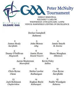 Peter McNulty Shield Semi-Final