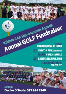 Games Development Annual Golf Fundraiser