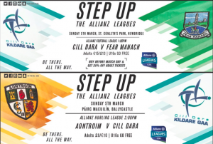 This weekend's Allianz League Fixtures