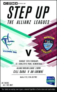 Allianz Hurling League – Kildare v Westmeath