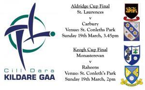 Aldridge Cup/Keogh Cup Finals