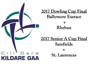 Dowling Cup/ Senior A Cup Finals