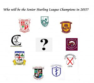 Senior Hurling Leagues Get Underway