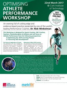 Optimising Athlete Performance Workshop