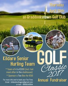 Please Support the Annual Senior Hurling Golf Classic