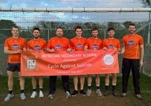 Kildare Senior Footballers Supporting Cycle Against Suicide