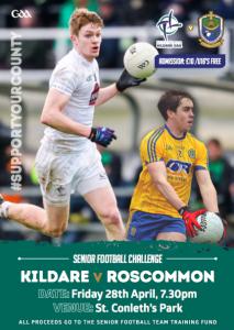 Senior Football Challenge – Kildare v Roscommon