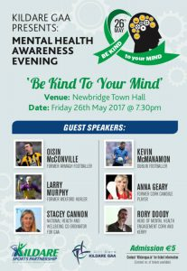 Mental Health Awareness Evening 'Be Kind To Your Mind'