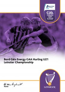 Kildare Under 21 Hurlers in Leinster Championship Action