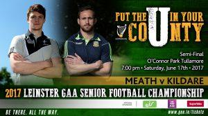 Leinster SFC Semi-Final – Kildare v Meath