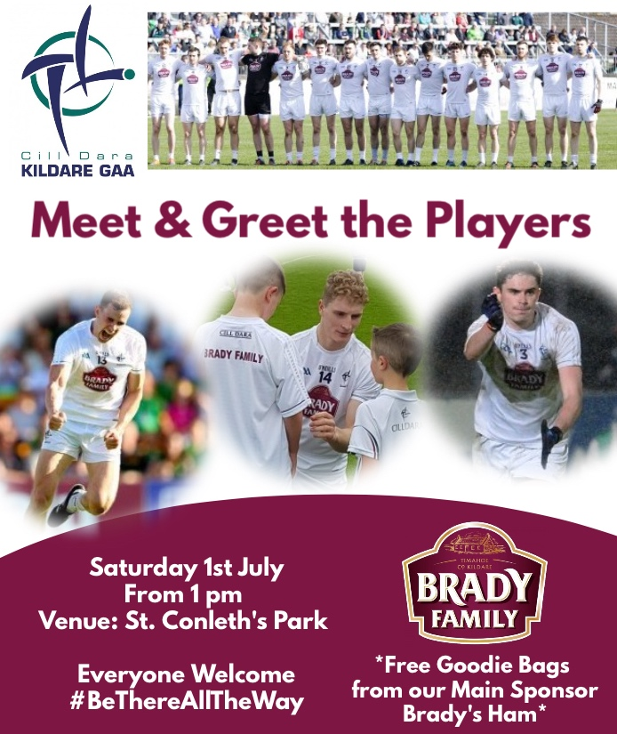 Meet & Greet the Senior Football Team
