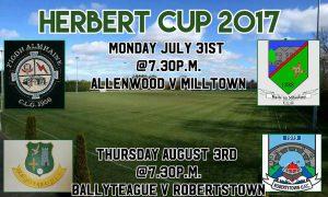 Herbert Cup 2017