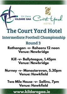 The Court Yard Hotel Leixlip IFC Round 3