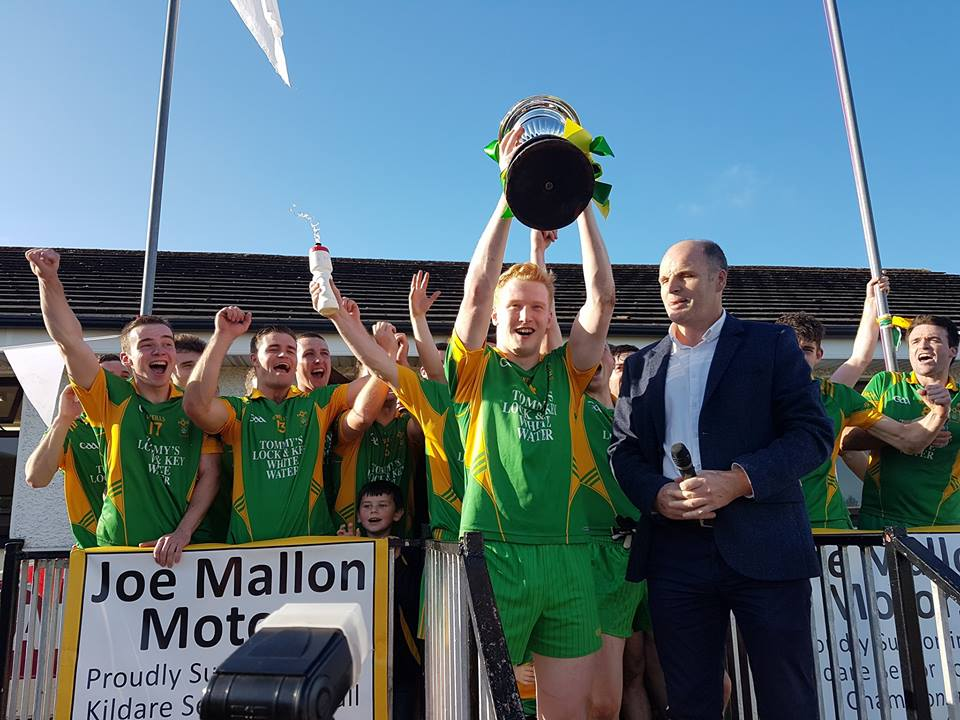 Ballymore Eustace – Tom Cross Junior Football Champions 2017
