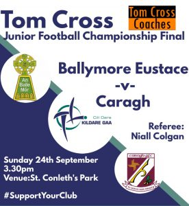 Tom Cross Junior Football Championship Final