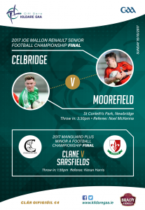 County Final weekend has arrived!!