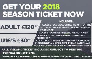 GAA Season Ticket