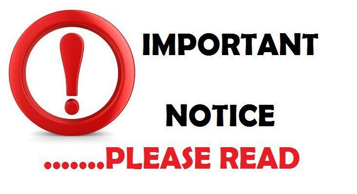 Important Notice: Safeguarding Level 1 and Level 2 Workshops