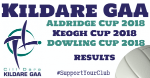 This evening's Aldridge Cup, Keogh Cup & Dowling Cup Results