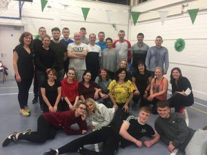 Dancing with the Stars and Strictly Come Dancing joins forces for Sallins GAA