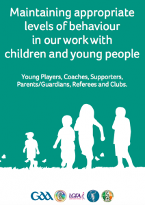 Maintaining appropriate levels of behaviour in our work with children and young people