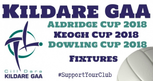 This evening's Aldridge Cup, Keogh Cup & Dowling Cup Fixtures
