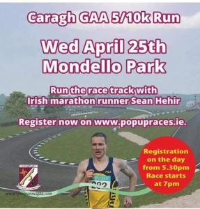 Caragh GAA 5/10k Run