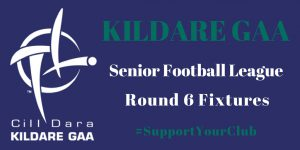 This weekend's Senior Football League – Round 6 Fixtures