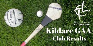 This week's Kildare GAA Club Results