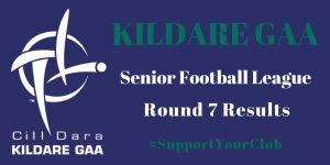 Senior Football League Round 7 Results