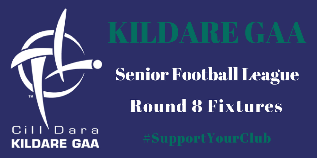 Senior Football League – Round 8 Fixtures