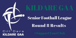 Senior Football League Round 8 Results + League Tables