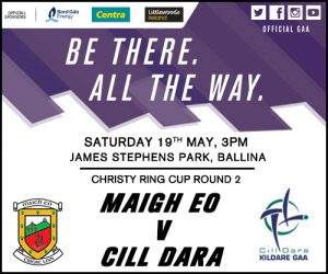 Kildare Minor and Senior Hurlers take on Offaly and Roscommon