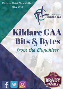 Kildare GAA Newsletter – May 2018