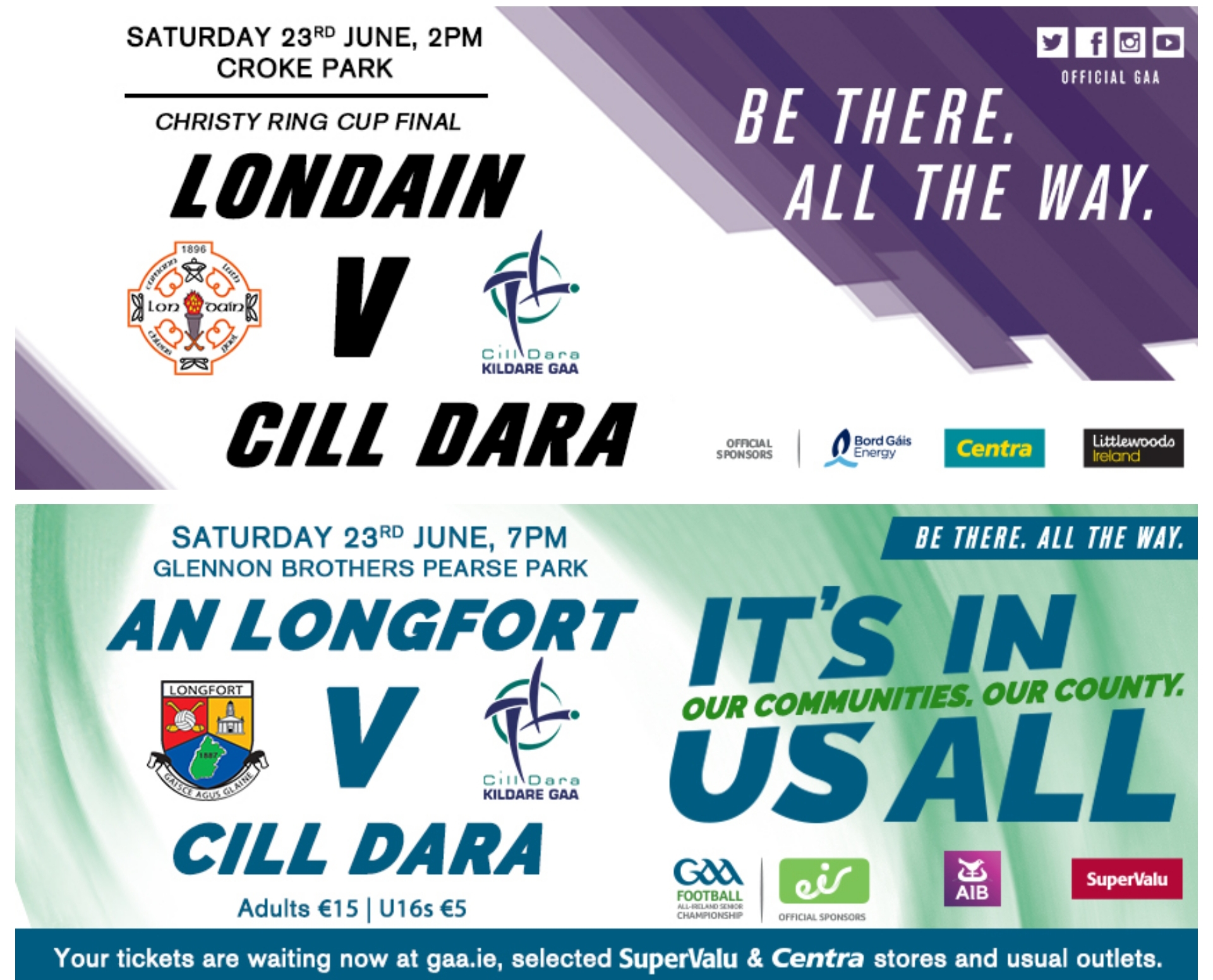 Kildare GAA Ticket Information