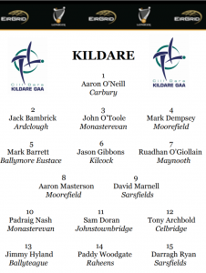 Team News – Eirgrid Leinster U20 Football Championship