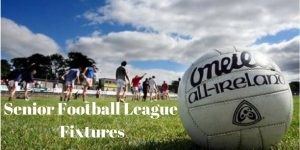 Senior Football League Fixtures
