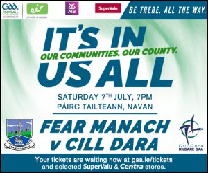 Ticket Information: Kildare v Fermanagh