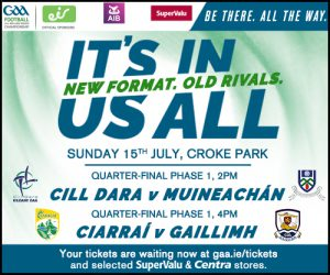 Great weekend of Kildare GAA action ahead