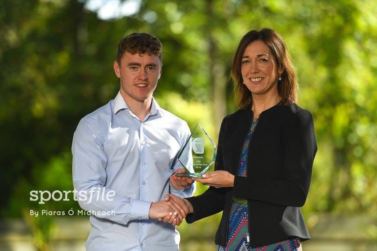 Kildare GAA's Jimmy Hyland named EirGrid U20 Football Player of the Year 2018