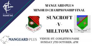 Manguard Plus Minor D Football Championship Final