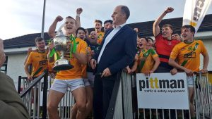 Two Mile House crowned Pittman Traffic & Safety Intermediate Football Champions