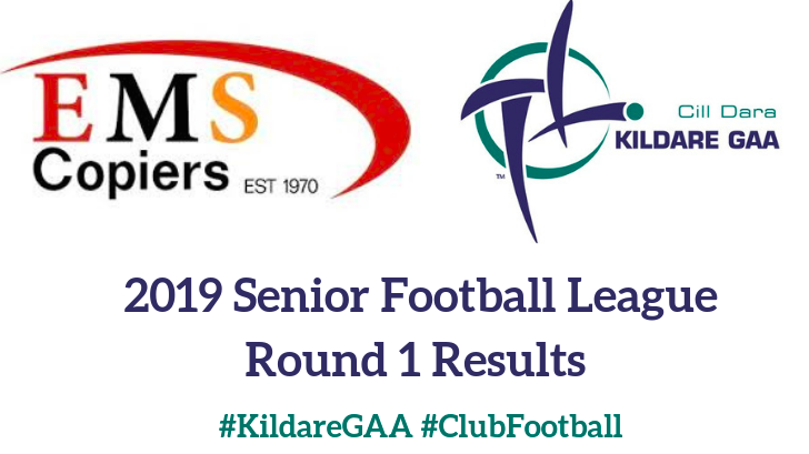 EMS Copiers Senior Football League – Round 1 Results